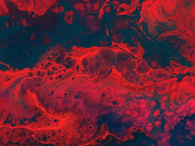 кровь, красное, абстракция, месячные